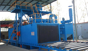 影响钢结构通过式抛丸机抛丸效果的五大因素