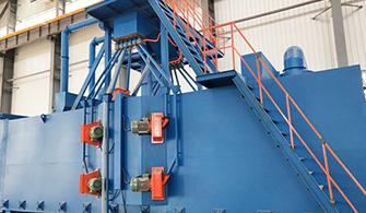 H型钢结构抛丸机有何具体除锈等级要求?