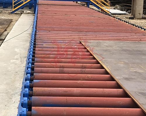 钢板预处理线辊道