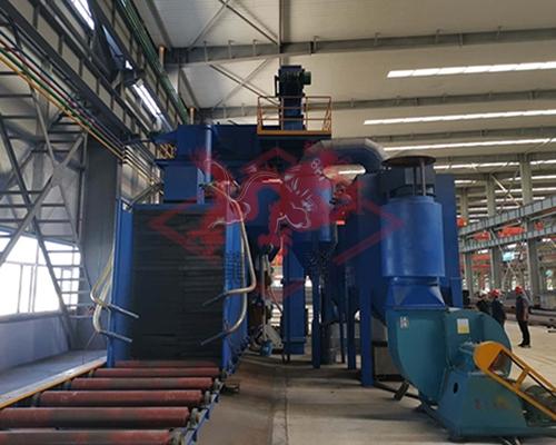 钢结构通过式抛丸机