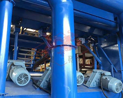 钢板预处理线进口抛丸器